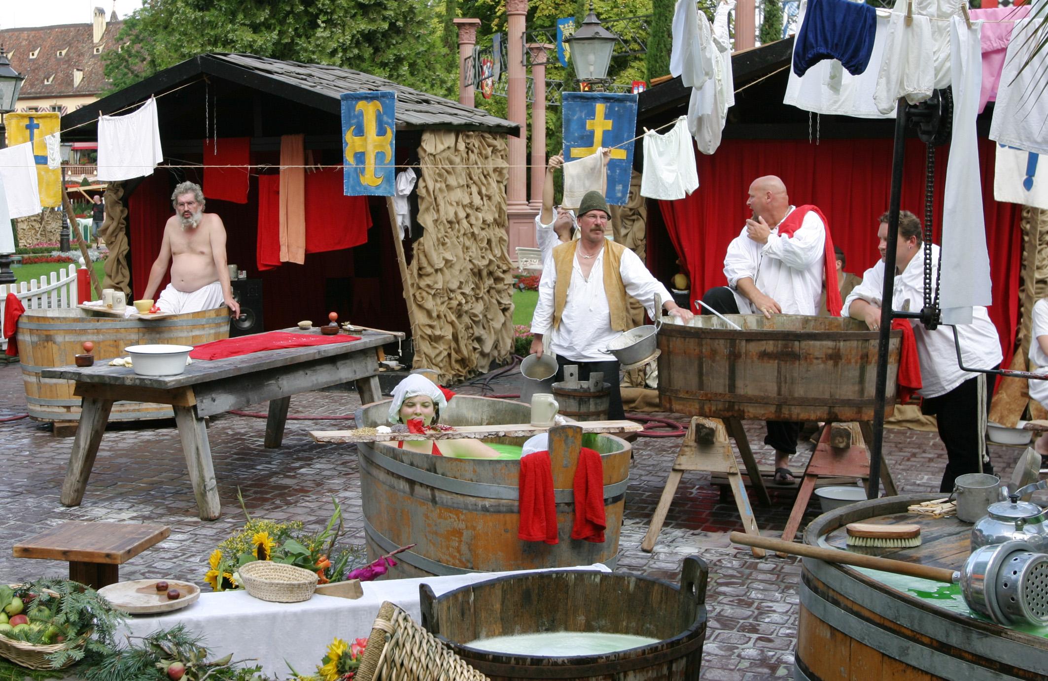 Mittelalter Badehaus